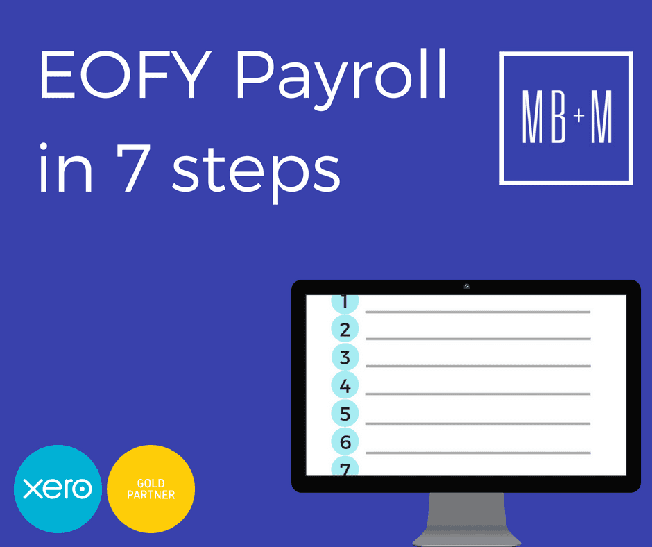 EOFY Payroll in 7 Easy Steps
