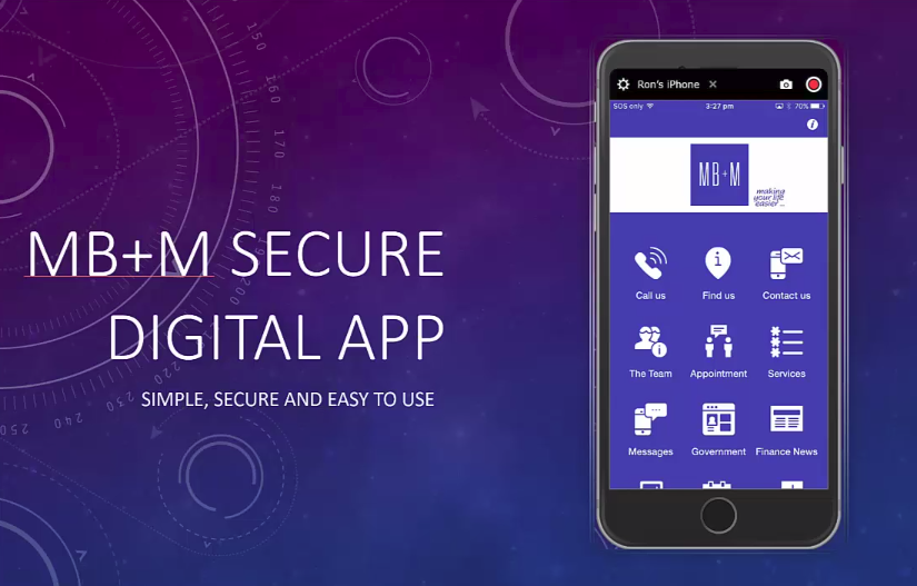MB+M Secure App