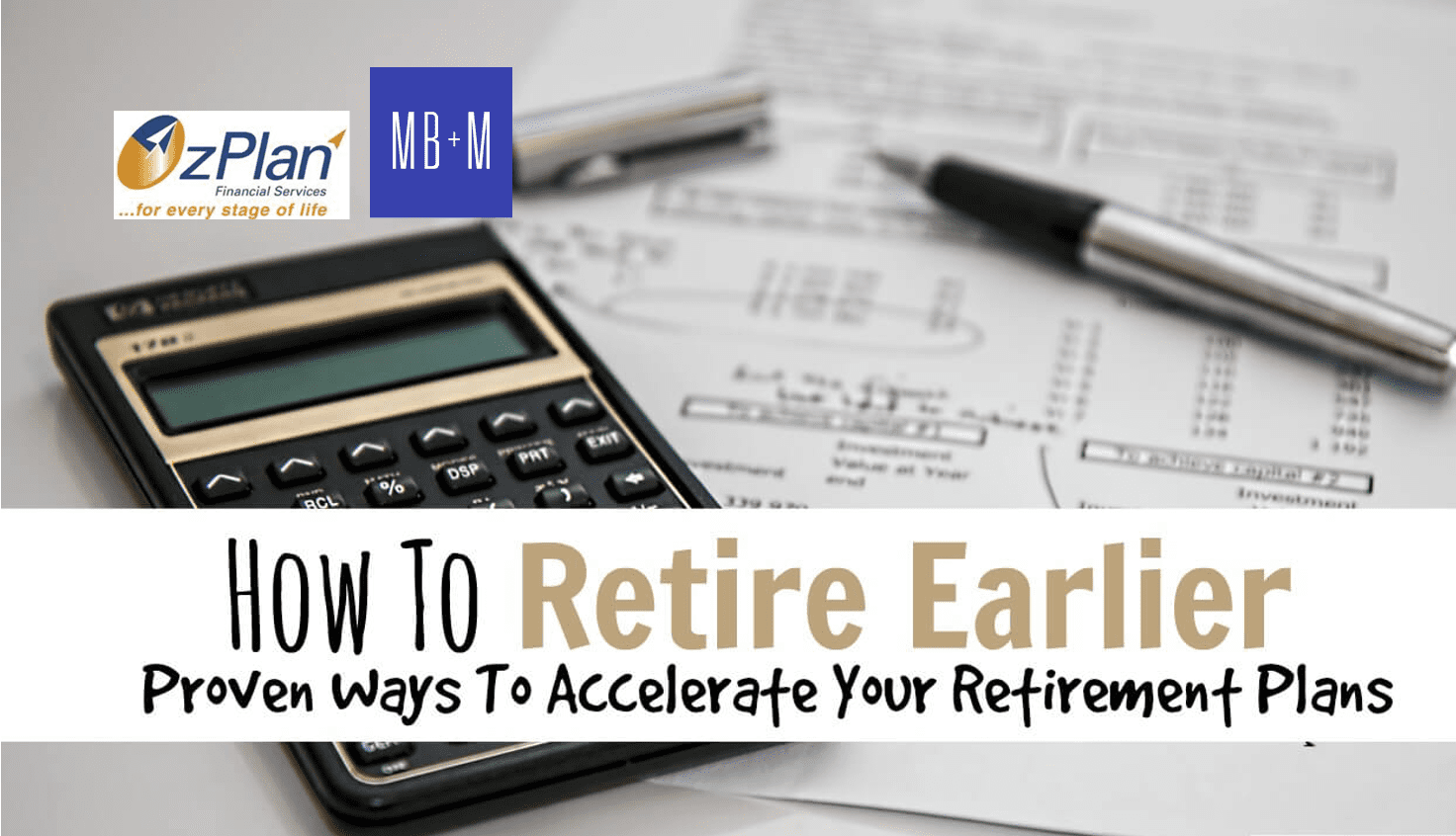 Accelerate your Retirement Plans!