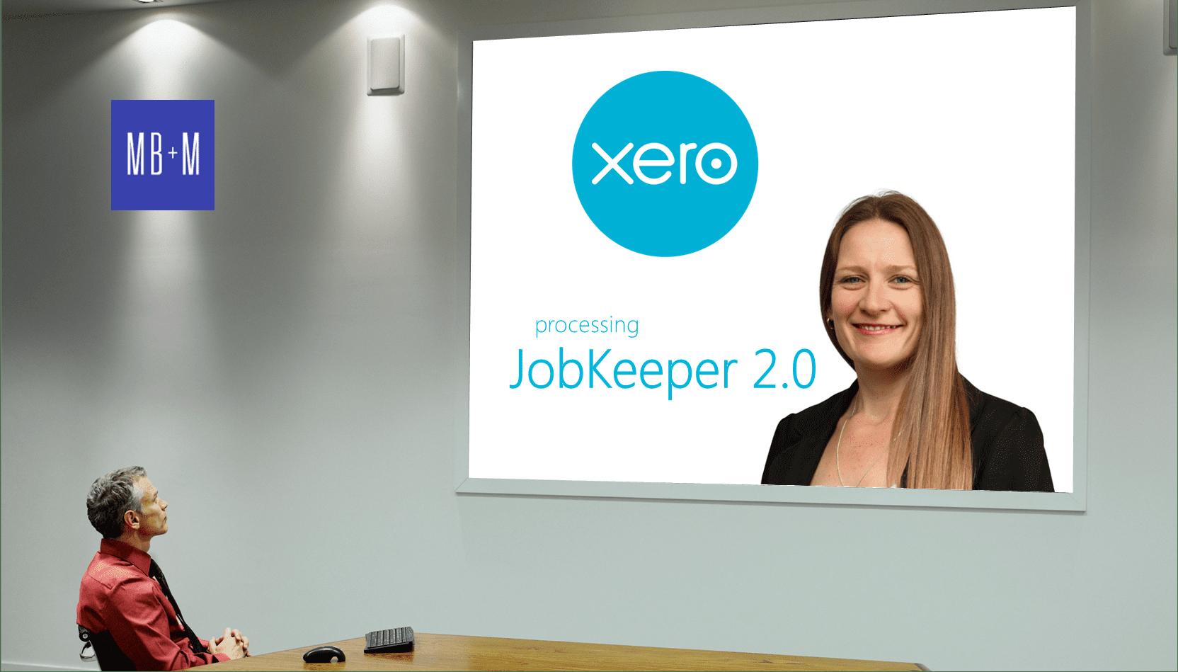 Xero & processing JobKeeper 2.0