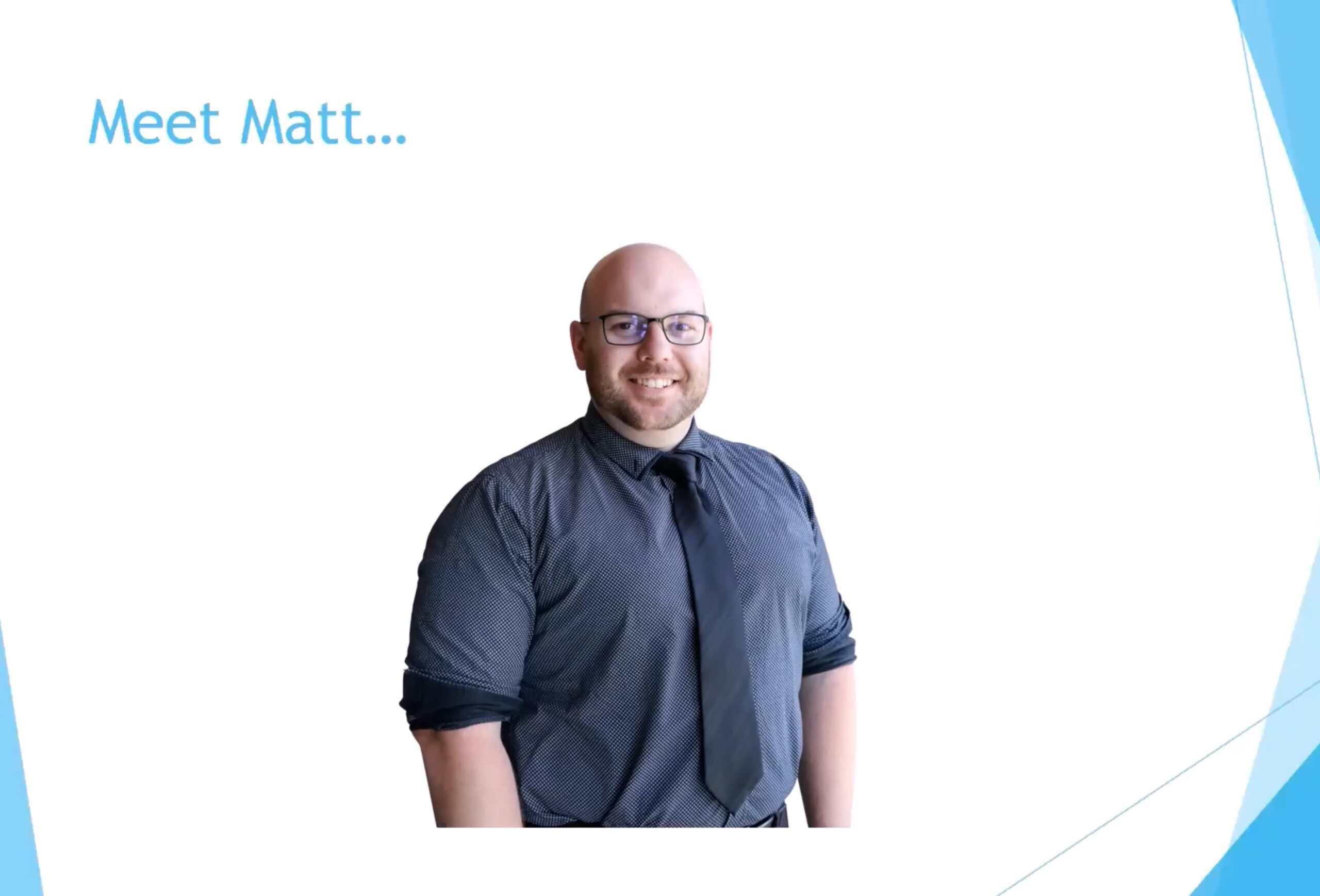 Meet Matt McDowall – Custom & Xero Team member