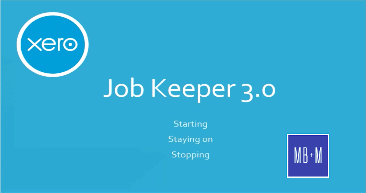 Job Keeper 3.0 – The Basics